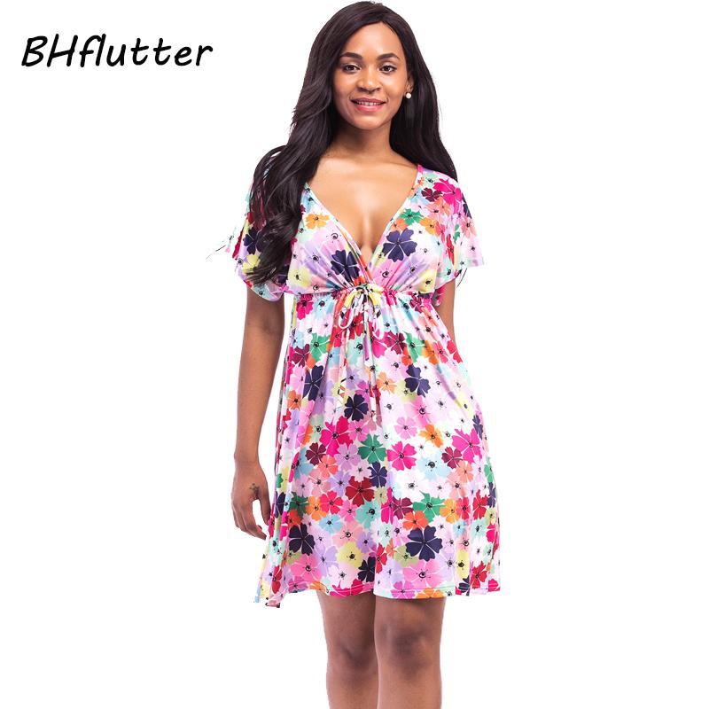 XXL 3XL 4XL Plus Größe Frauen Kleid - Darilo24.com