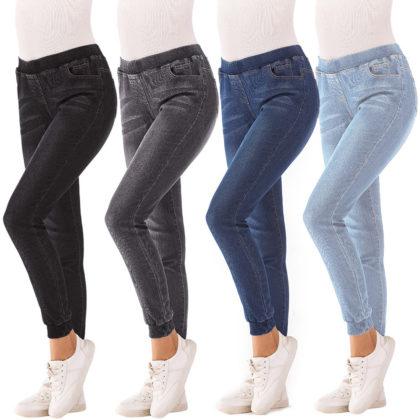 Jeans für Frauen Plus Größen Stretch