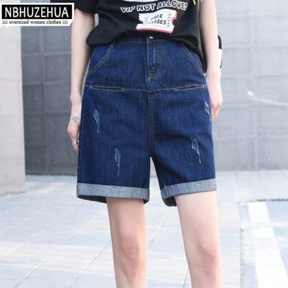 Großen Größe Capri Sommer Hosen Jeans XXXXL 5XL 6XL 7XL