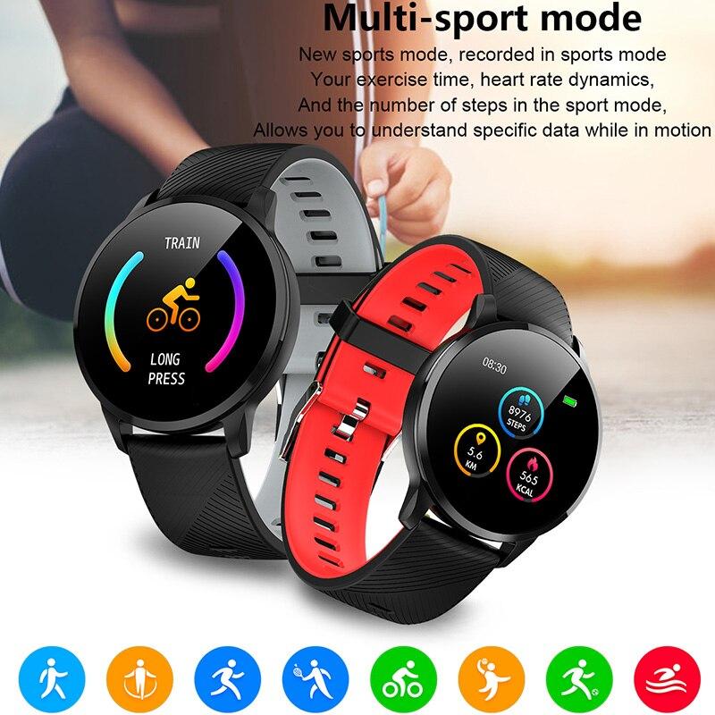 Smart Sport Uhr Bluetooth Schrittzähler Fitness..