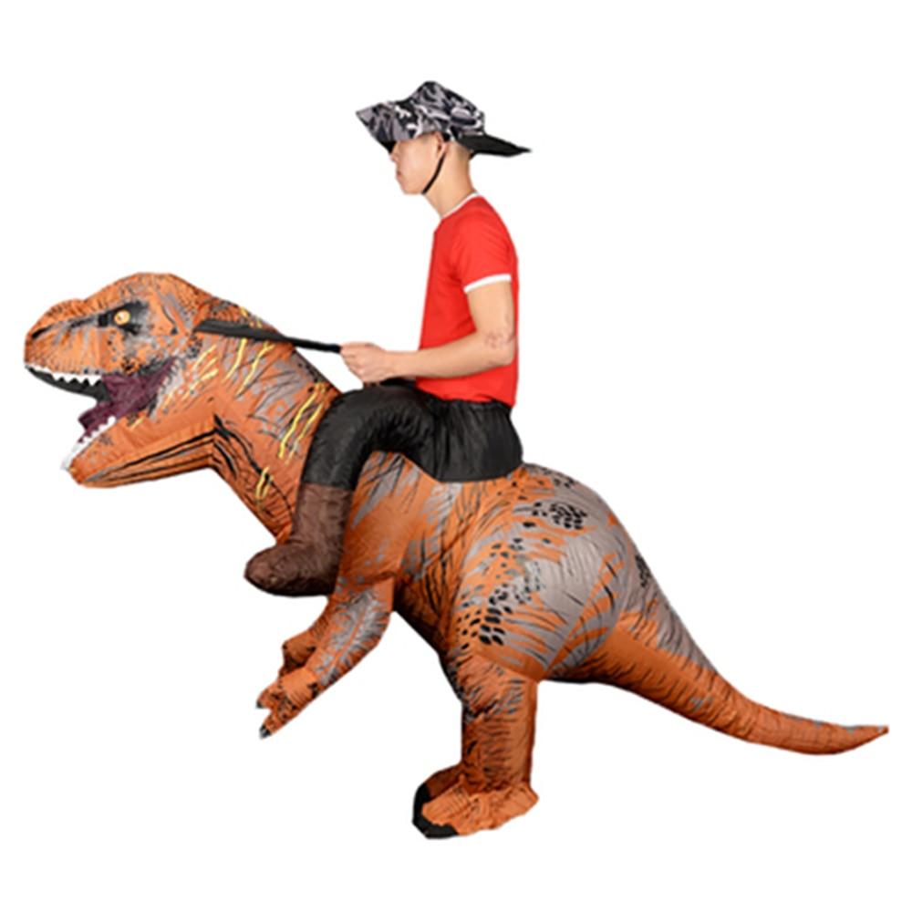 maskottchen aufblasbarer dinosaurier t rex dino cartoon
