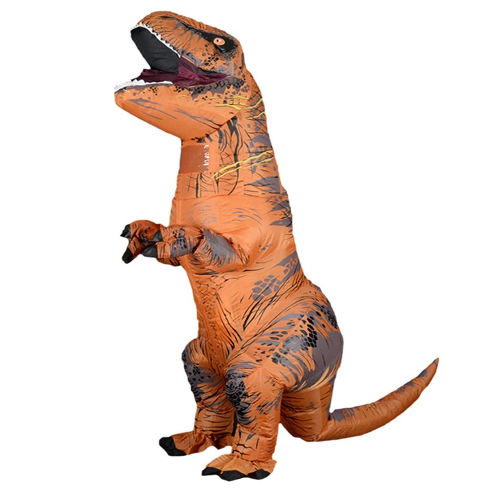 aufblasbares t rex dinosaurier halloween kostüm  darilo24